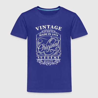 Vintage made in 1974 - Toddler Premium T-Shirt