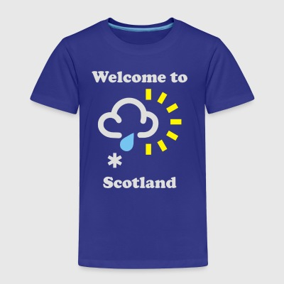 Scottish Weather - Toddler Premium T-Shirt