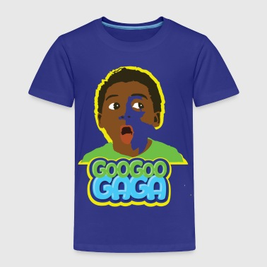 Goo Goo Gaga Face - Toddler Premium T-Shirt