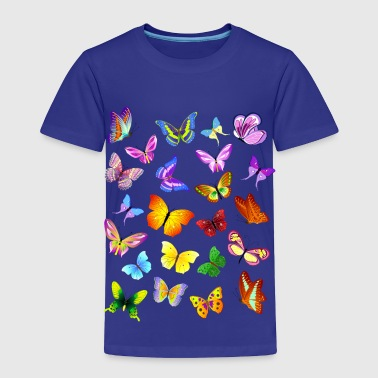 Butterflies - Toddler Premium T-Shirt