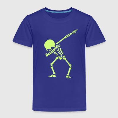Dabbing Skeleton Dance - Toddler Premium T-Shirt