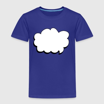thought balloon - Toddler Premium T-Shirt