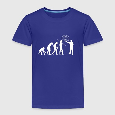 Evolution of Thug - Toddler Premium T-Shirt