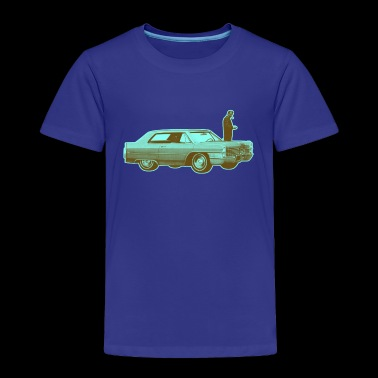 Shorty Cadillac Cyan Brown - Toddler Premium T-Shirt
