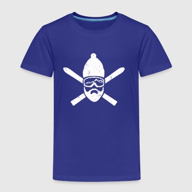 skiers - Toddler Premium T-Shirt