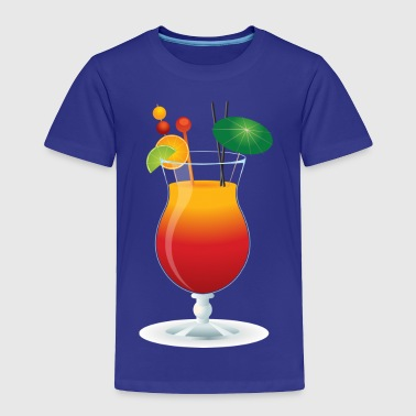 Caribbean Cocktail - Toddler Premium T-Shirt