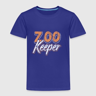 Shirt for Zookeeper as a gift - Toddler Premium T-Shirt