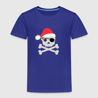 Pirate Santa Christmas - Toddler Premium T-Shirt