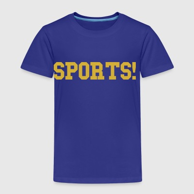 Sports gold - Toddler Premium T-Shirt
