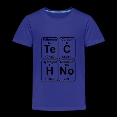 TECHNO - PERIODIC TABLE - Toddler Premium T-Shirt