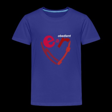 obedient heart - Toddler Premium T-Shirt