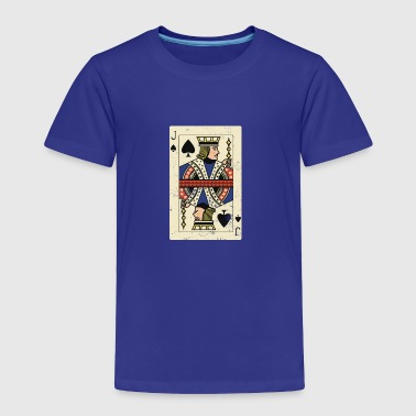 Cool and Trendy Jack Card Design - Toddler Premium T-Shirt