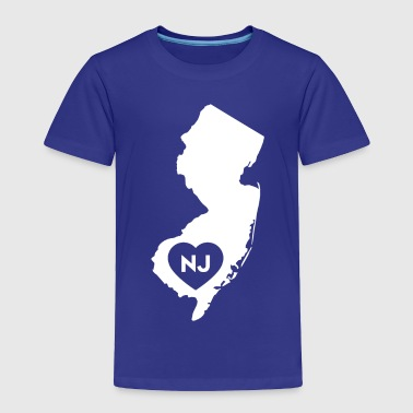 I Love New Jersey State - Toddler Premium T-Shirt