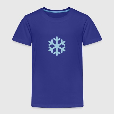 Snowflake Shape - Toddler Premium T-Shirt