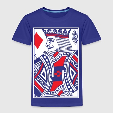 Kings of Diamonds - King Card - Toddler Premium T-Shirt