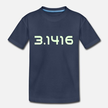 Mathematics Pi Number 3.1416 - Toddler Premium T-Shirt