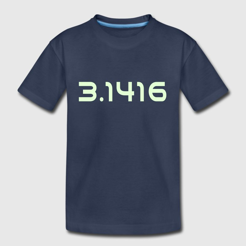Pi Number 3.1416 - Toddler Premium T-Shirt