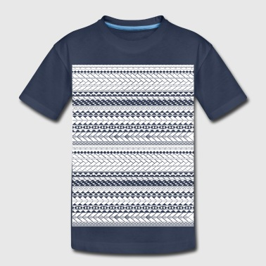 Tapu by SKU (samoan_tribal_band) - Toddler Premium T-Shirt