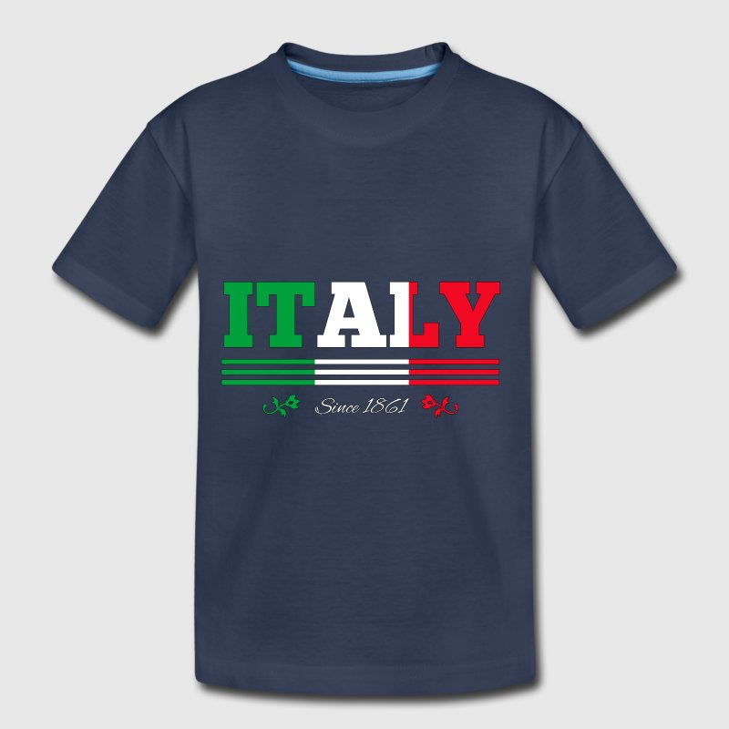 flag Italy since 1861 - Toddler Premium T-Shirt