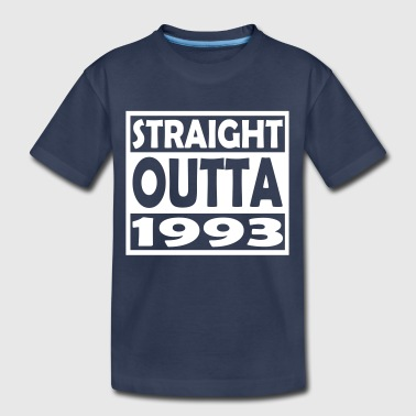24th Bday 24th Birthday T Shirt Straight Outta 1993 - Toddler Premium T-Shirt
