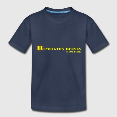 Remington Reeves Full Logo - Toddler Premium T-Shirt