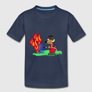 fireman - Toddler Premium T-Shirt