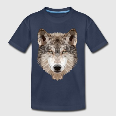 Gray Wolf - Toddler Premium T-Shirt