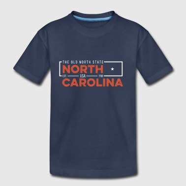 North Carolina Badge - Toddler Premium T-Shirt