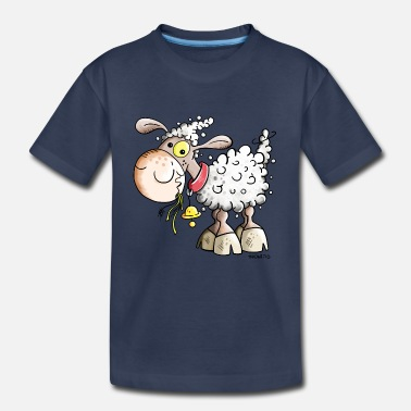 Sheep Cute Sheep - Comic - Gift - Baby - Kids - Fun - Toddler Premium T-Shirt