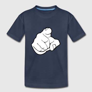 Trigger Finger Finger - forefinger - pointing finger - Toddler Premium T-Shirt