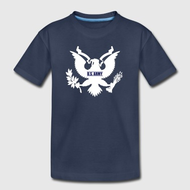 Us Eagle Eagle US Army, Mision Militar ™ - Toddler Premium T-Shirt