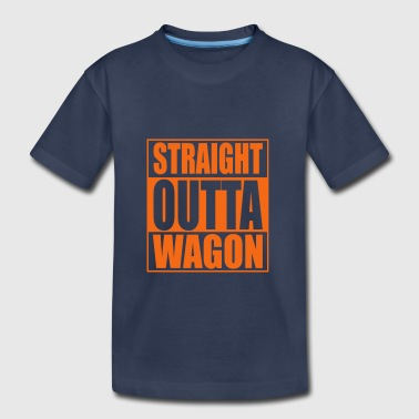 Straigh Outta Wagon Hip Hop - Toddler Premium T-Shirt
