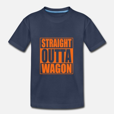 Volvofornia Straigh Outta Wagon Hip Hop - Toddler Premium T-Shirt