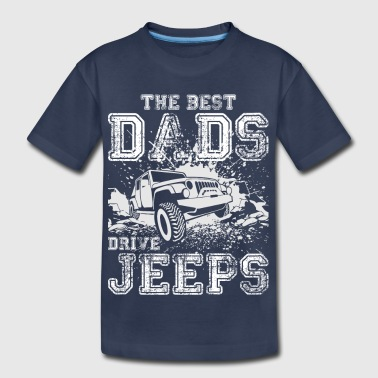 V8 The Best Dads Drive Jeeps 02 - Toddler Premium T-Shirt