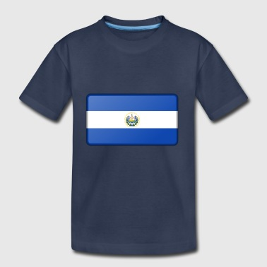 El Salvador Flag - Toddler Premium T-Shirt