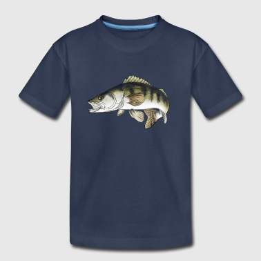 Fiske pike-perch - Toddler Premium T-Shirt