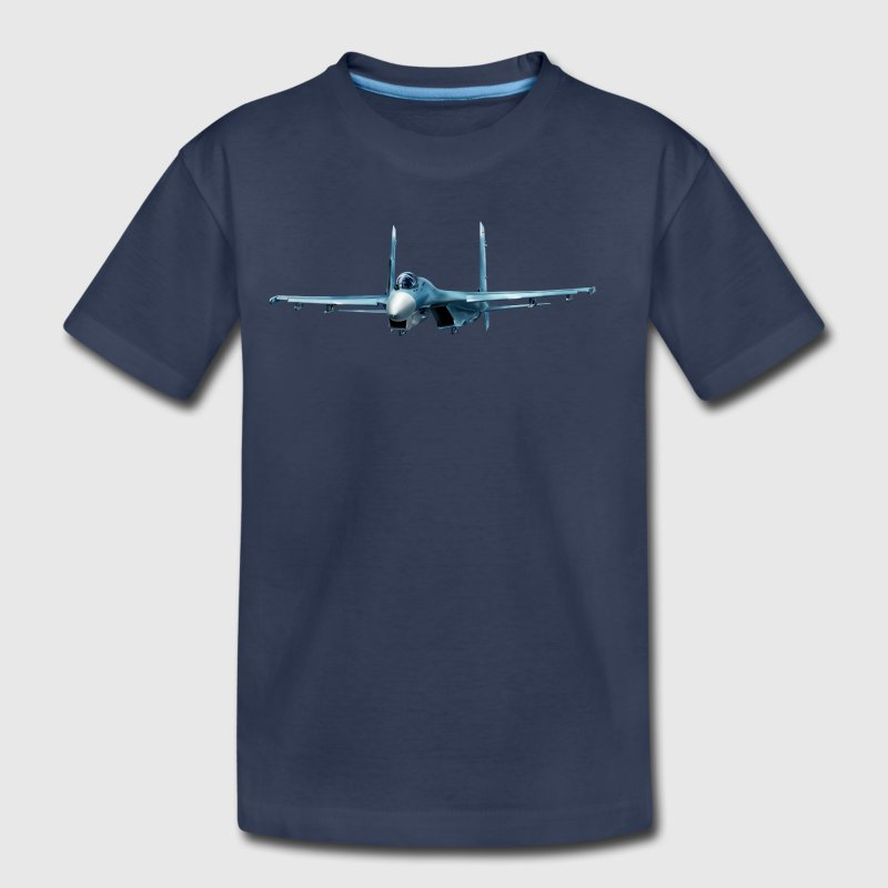 Fighter Sukhoi Su-27 - Toddler Premium T-Shirt