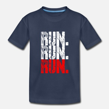 Running run run run - Toddler Premium T-Shirt
