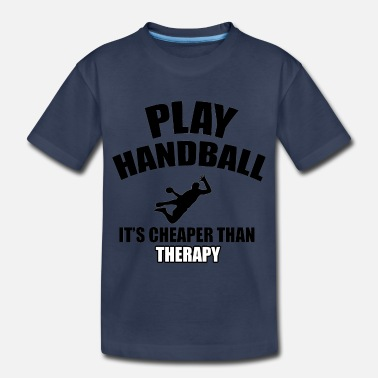 Handball handball designs - Toddler Premium T-Shirt