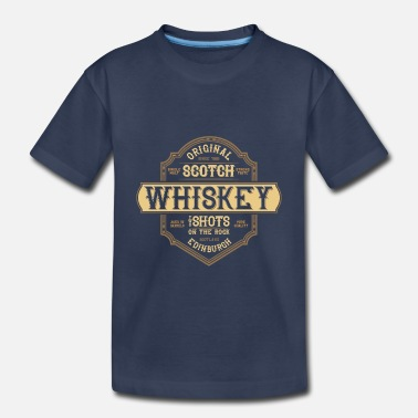 Whiskey whiskey and girls - Toddler Premium T-Shirt