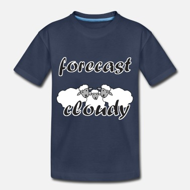 weather forecast cloudy - Toddler Premium T-Shirt