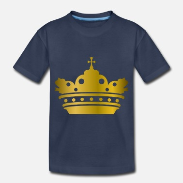 Image King prince VIP golden crown gold cross cool image - Toddler Premium T-Shirt