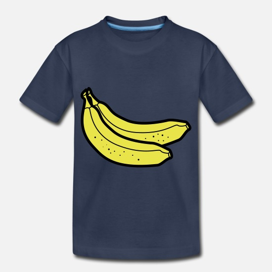 Banana Baby Clothing - Bananas - Toddler Premium T-Shirt navy