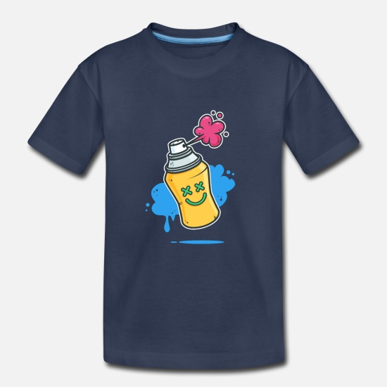 Graffiti Baby Clothing - Graffiti - Toddler Premium T-Shirt navy
