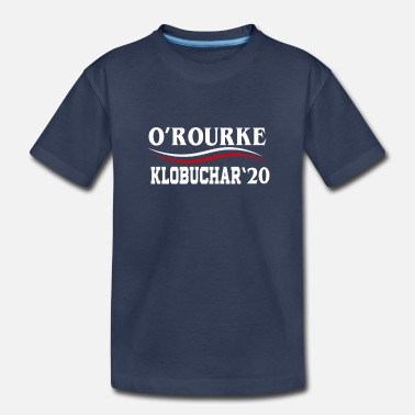 Tomorrow Beto O'Rourke & Amy Klobuchar 2020 President - Toddler Premium T-Shirt