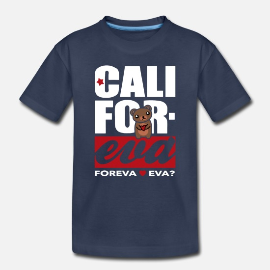 Game Baby Clothing - Cali Foreva - Toddler Premium T-Shirt navy