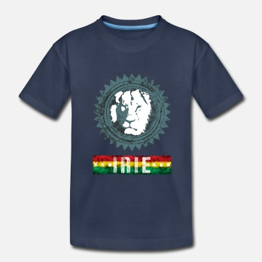 Reggae Music reggae lion irie - Toddler Premium T-Shirt