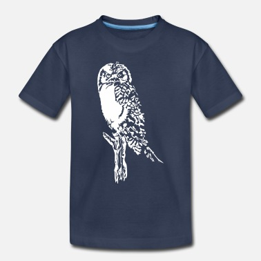 Branch Owl On Branch - Toddler Premium T-Shirt