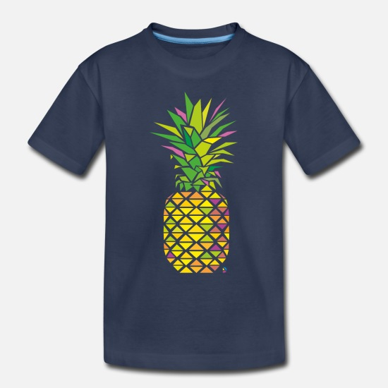 Pineapple Baby Clothing - AD Pineapple - Toddler Premium T-Shirt navy