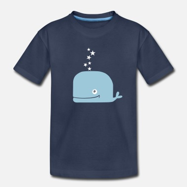 Mammal mammalian star_whale_T-Shirt - Toddler Premium T-Shirt